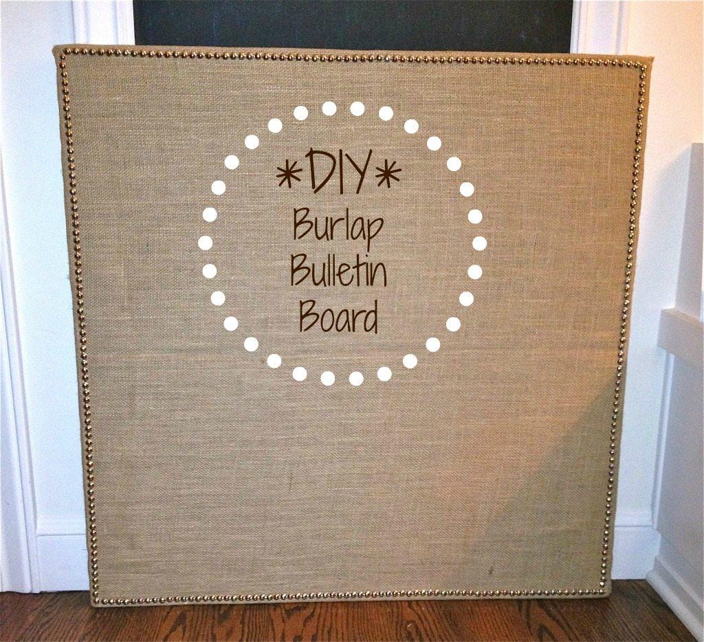 Desks Bulletin Boards Burlap 183 The Simple Proof